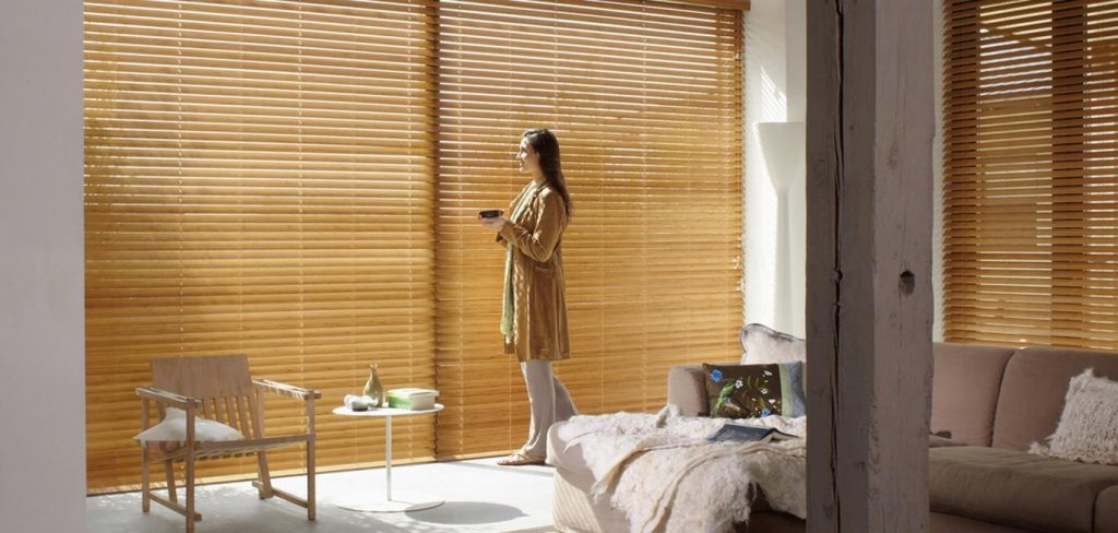 Cortinas de madera Country Woods